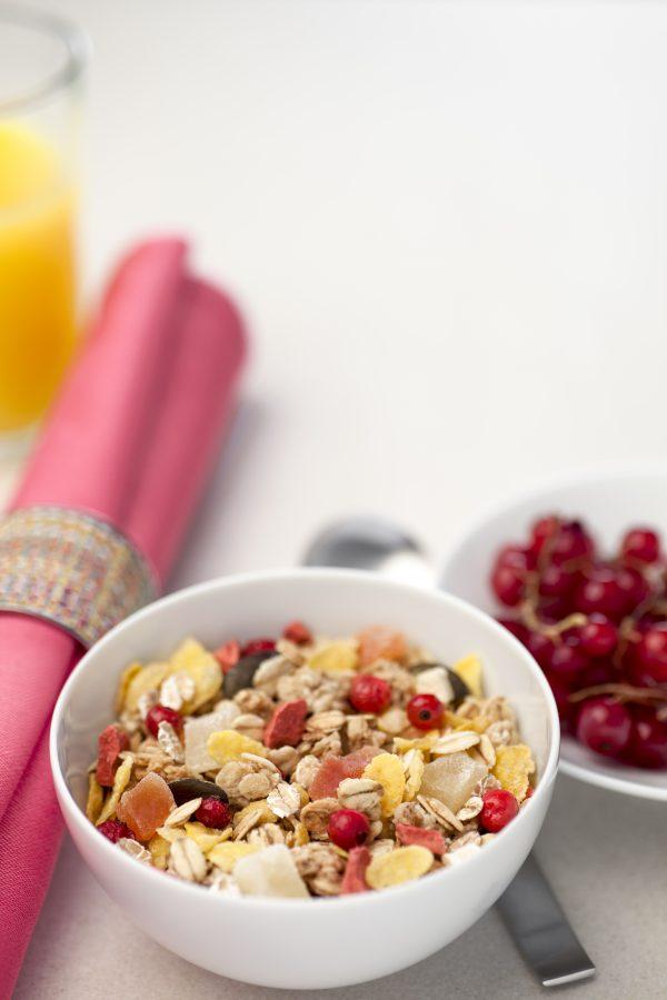 Muesli Fruits Jamets Boutique Céréales Petit Déjeuner Hôtel