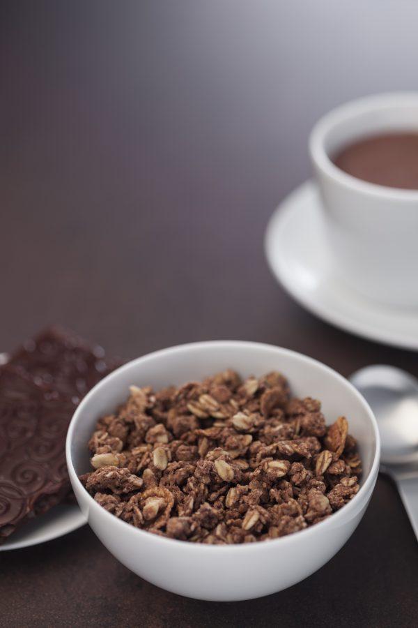 Muesli Chocolat Crunchy Jamets Petit Déjeuner Hôtel Croustillant