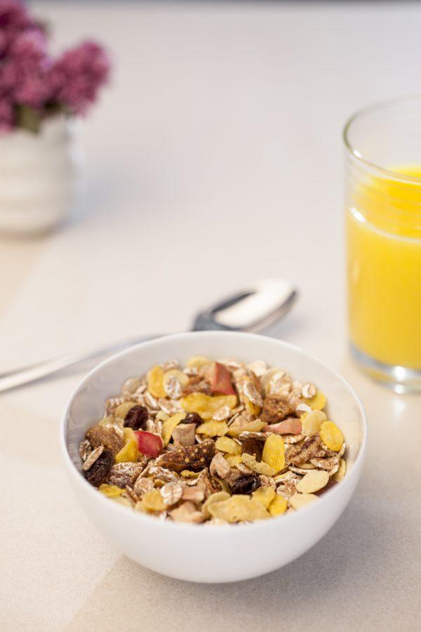 Muesli Céréales Bio aux Fruits Jamets Petit Déjeuner Luxe