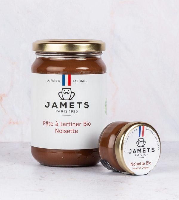 Jamets pot Pâte à Tartiner Artisanale Noisettes BIO