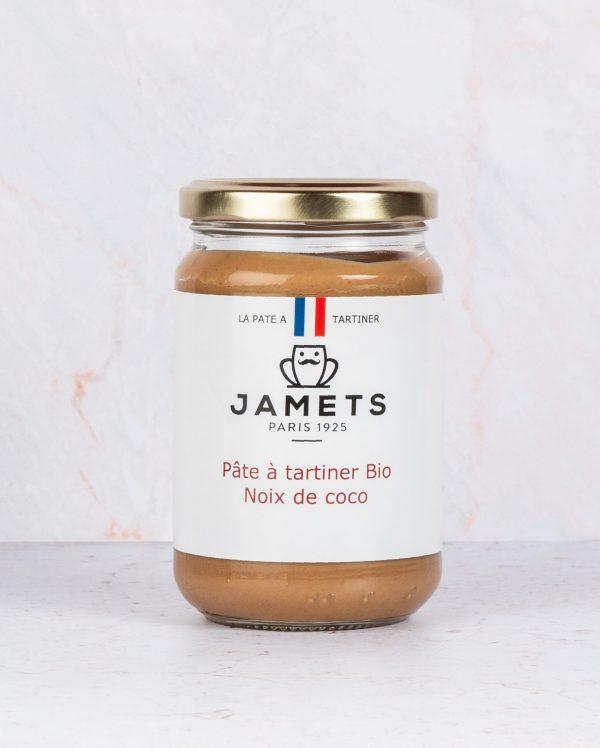 Jamets Pâte à Tartiner Artisanale Noix de Coco BIO