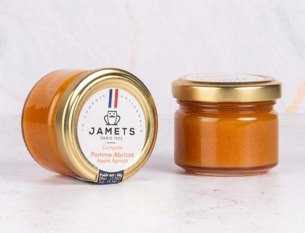 Compote Pomme Abricot Jamets Hôtellerie