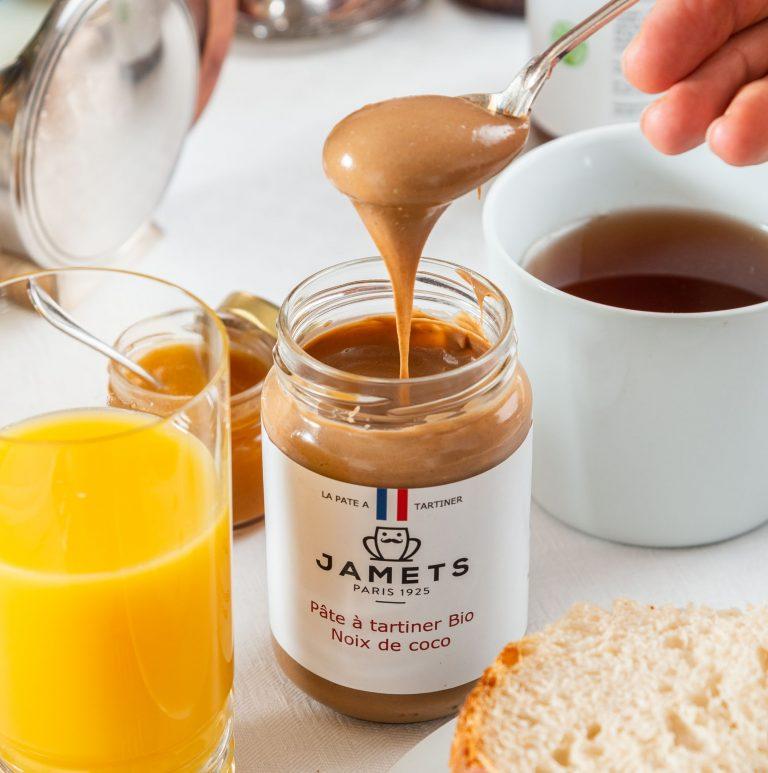 Pâte à Tartiner artisanale Jamets Noix de Coco BIO sans huile de palme