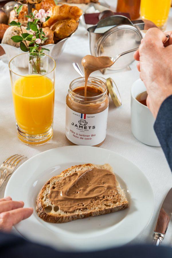 Le plaisir du bon petit déjeuner Jamets Coco BIO