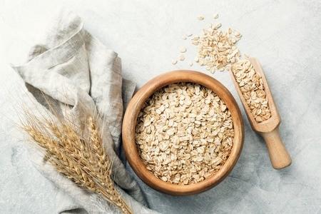 Céréales Flocon Avoine Jamets Petit Déjeuner Oat