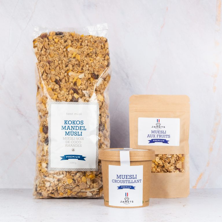 Sachet Muesli Jamets Cup Kilo Packaging
