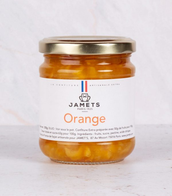 Confiture Marmelade Orange Jamets