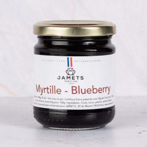 Confiture Myrtilles Blueberries Jamets