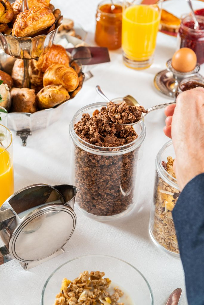 Muesli Graines Fruits Secs Jamets