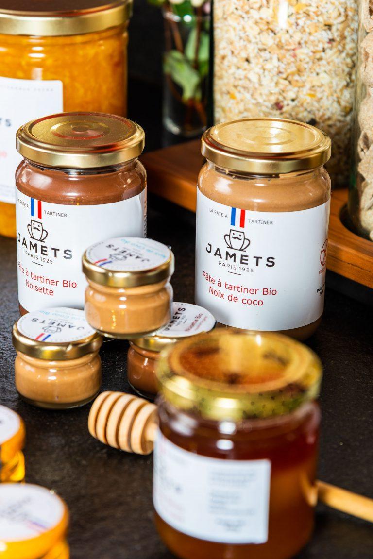 Gamme produit pâte à tartiner artisanale Jamets